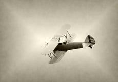 Old biplane Royalty Free Stock Image