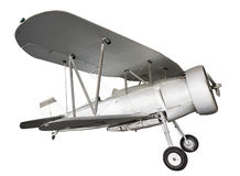 Old biplane Stock Images