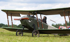 Old biplane Royalty Free Stock Photography