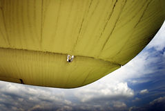 Old biplane wing Stock Images