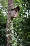 Old bird house Stock Photo