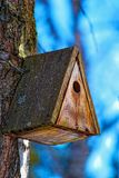 Old birdhouse Stock Image