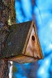 Old birdhouse Stock Image