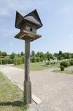 The old birdhouse Royalty Free Stock Photos