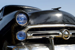 Old black american car stock photography