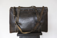 Old black bag Royalty Free Stock Photos