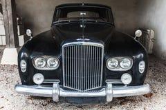 Old black Bentley S3 saloon car Stock Photo