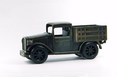Old  black car toy Stock Photo