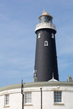 Old black Dungeness Lighthouse Royalty Free Stock Photo