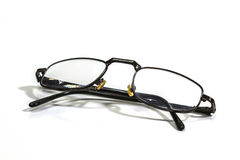 Old Black Eye Glasses Royalty Free Stock Photography