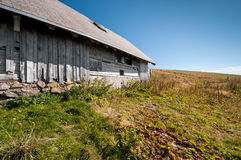 Old black forest mountain cottage Stock Images