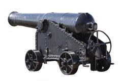 Old black gun Royalty Free Stock Image