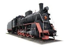 Old black locomotive Stock Images