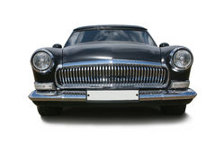 Old black luxury car Stock Photography