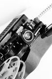 Old black movie projector Royalty Free Stock Photography