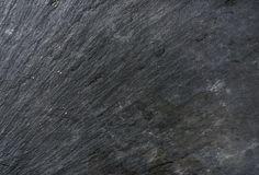 Old black slate stone texture, background or wallpaper Royalty Free Stock Photos