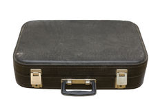 Old black suitcase Royalty Free Stock Image