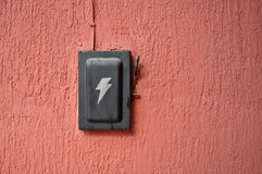 Old black switch Stock Photography