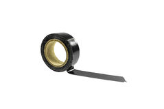 Old black tape Stock Photography