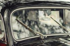 Old black vintage car Stock Photos
