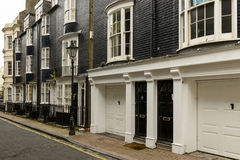 Old black and white buildings at Brighton, East Sussex Stock Photos