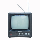 Old black and white television Stock Photo
