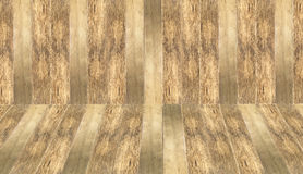 Old black and white timber wood texture. Brown wooden room as a background Royalty Free Stock Image