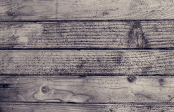 Old black and white wood texture Stock Images