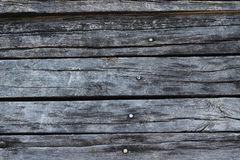 Old black wood Stock Photography