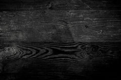 Old black wood texture Royalty Free Stock Images