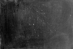 An old blackboard with chalk writing Stock Photography