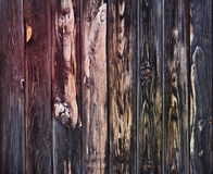 Old blackened boards. Stock Photos