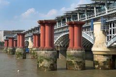 Old Blackfriars bridge, London Royalty Free Stock Photo