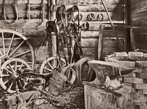 Old blacksmith Stock Image