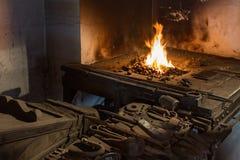 Old blacksmith's shop Stock Photography