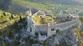 The old Blagaj Fort. The old town Blagaj, also known as Bona or Stjepan-city, is a fortress in the area of Blagaj Mostar, Bosnia and Herzegovina. It is located Stock Images