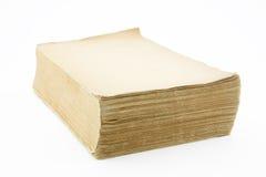 Old blank book Stock Photos