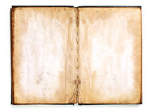 Old blank book stock image
