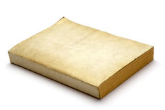 Old Blank Book Stock Photography