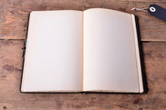 Old blank book Royalty Free Stock Photo