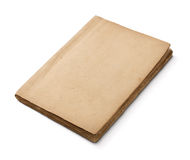 Old blank book Royalty Free Stock Photography