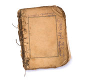 Old blank book with frames. Stock Images