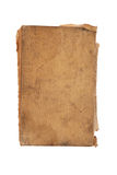 Old blank book isolated on white Stock Photo