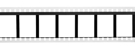 Old blank film strip Royalty Free Stock Image