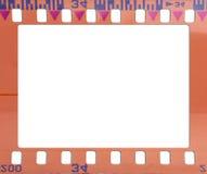 Old blank film strip Royalty Free Stock Photos