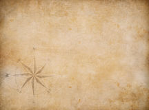 Old blank map background Royalty Free Stock Photo