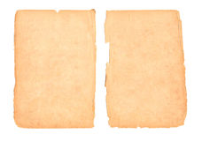 Old blank paper Stock Photography