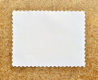 Old blank photo Royalty Free Stock Image
