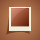 Old blank photo frame Stock Photography