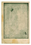 Old blank photo postcard. Vintage grunge used paper texture. Ins Stock Photography